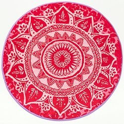 Romantic Patch Bath Mat