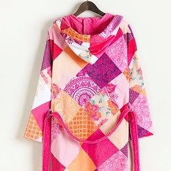 Romantic Patch Bath Robes