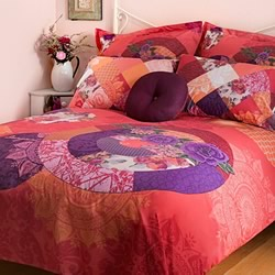 Romantic Patch Quilt Cover Set