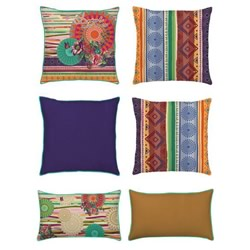 Tribal Galactic Cushions