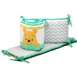 Pooh A is For Apple Cot Bumper