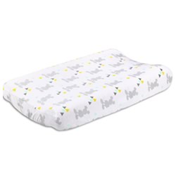 Geo Mickey Changing Pad Cover
