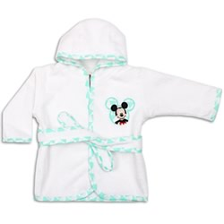 Geo Mickey Bath Robe