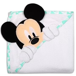 Geo Mickey Hooded Towel