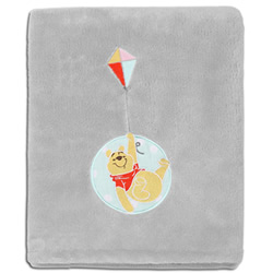 Pooh Fly A Kite  Blanket