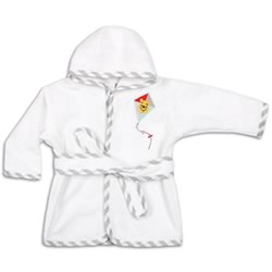Pooh Fly A Kite Bath Robe