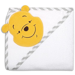 Pooh Fly A Kite Hooded Towel