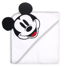 Disney Mod Mickey Character Hooded Towel