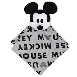 Disney Mod Mickey Letter Print Security Blanket