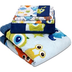 Monsters Inc Cot Set
