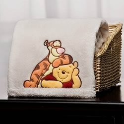 Pooh A Day For Friends Blanket