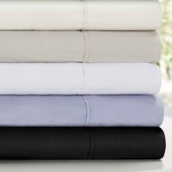 Plain Flannelette Sheet Set