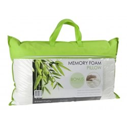 Bamboo Cover Memory Foam Pillow
