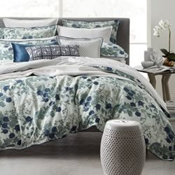 Birds Of Paradise Teal Quilt Cover Set