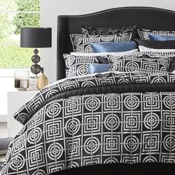 Circles & Squares Quilt Cover Set