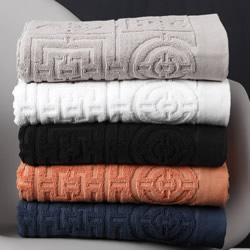 Circles & Squares Towels