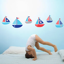 Ahoy Wall Decals