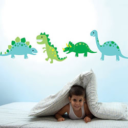 Dinosaur Stomp Wall Decals