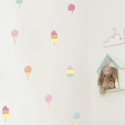 Ice Cream Dreams Wall Decals