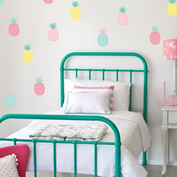 Pineaple Passion Wall Decals