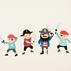 Pirates Wall Decals