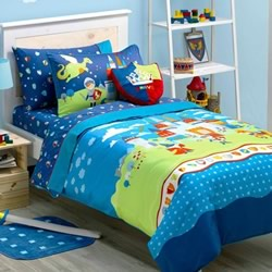 Good Knights Quilt Cover Set