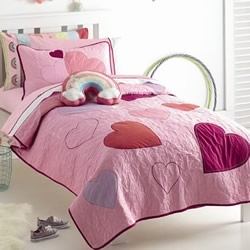 Hearts Coverlet