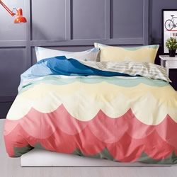Orange Quilt Cover Set