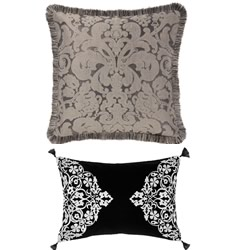 Adalina Black Cushions