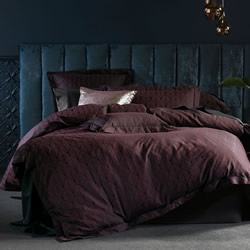 Armelle Mahogany Quilt Cover Set