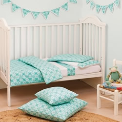 Tangiers Cot Quilt Cover Set
