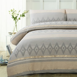 Avery Jacquard Quilt Cover Set