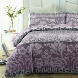 Barcelona Purple Quilt Cover Set