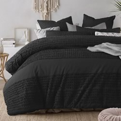 Betty Black Quilt Cover Set