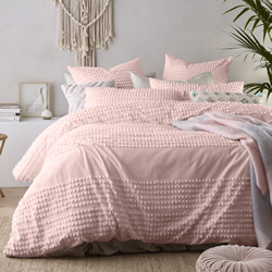 Betty Blush Quilt Cover Set