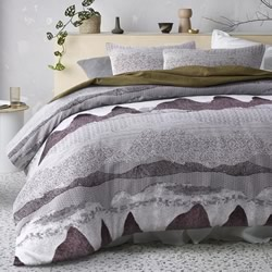 Bulla Burgundy Quilt Cover Set