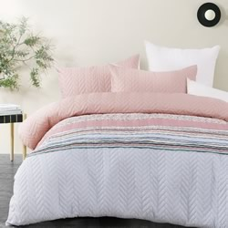 Cora Quilted Quilt Cover Set