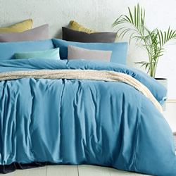 Cotton Velvet Moonstone Quilt Cover Set