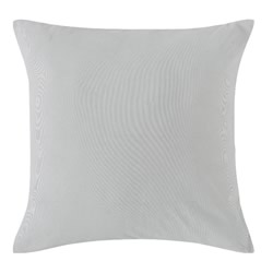 Dove Grey Corduroy European Pillowcase