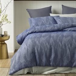 Java Navy Quilt Cover Set