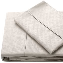 Quay Linen Embossed Sheet Set