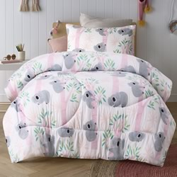 Lovely Koala Comforter Set