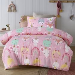 Magical Friends Comforter Set