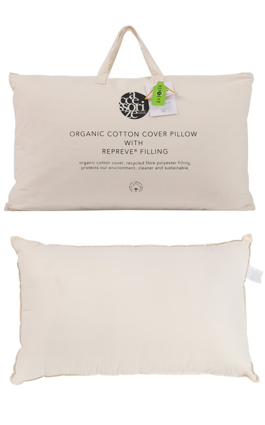 Organic Cotton Cover Pillow