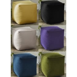 Oxley Velvet Ottomans