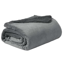 Sherpa Blanket Grey