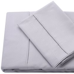 Quay Silver Embossed Sheet Set