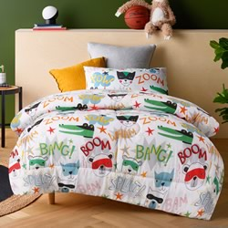 Superhero Comforter Set