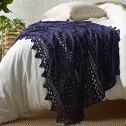 Tenille Eclipse Lace Crochet Throw