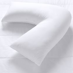 V Shape Pillow with Cotton Cover